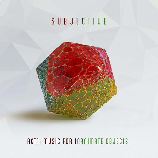 Subjective Act One Music For Inanimate Objects Vinyl LP New 2019