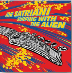 Joe Satriani - Surfing With The Alien Vinyl LP Red/Yellow Black Friday 2019