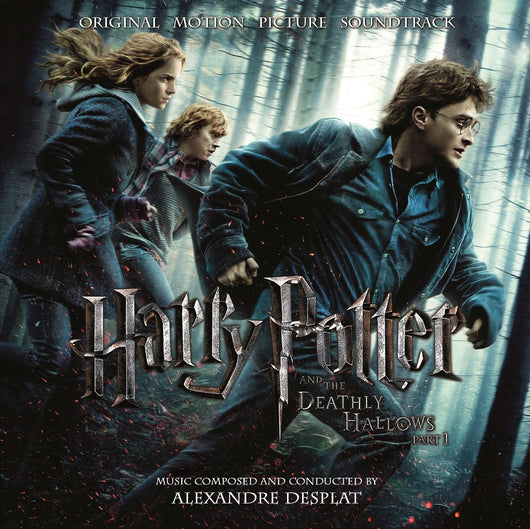 HARRY POTTER AND THE DEATHLY HALLOWS P.1 SOUNDTRACK LP VINYL NEW