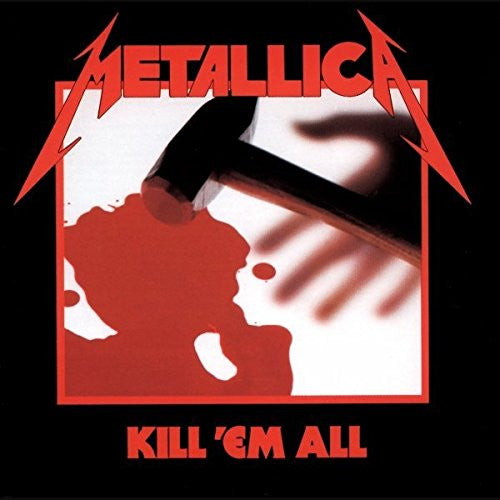 METALLICA KILL EM ALL LP VINYL NEW 180GM 33RPM REISSUE