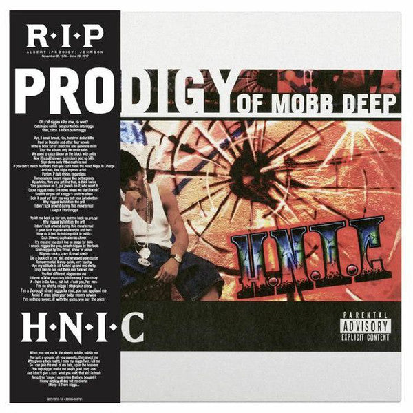 PRODIGY OF MOBB DEEP H.N.I.C. 2LP RSD Black Friday Vinyl NEW 2017