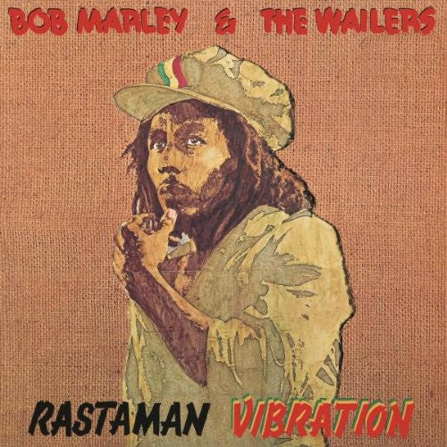 BOB MARLEY AND THE WAILERS RASTAMAN VIBRATION LP VINYL 33RPM NEW