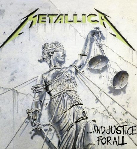 METALLICA AND JUSTICE FOR ALL BOX SET LP VINYL 33RPM NEW