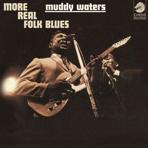MUDDY WATERS MORE REAL BLUES LP VINYL 33RPM NEW