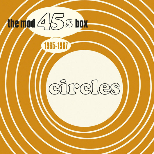 CIRCLES THE MOD 45S BOX 7 INCH VINYL SINGLE NEW