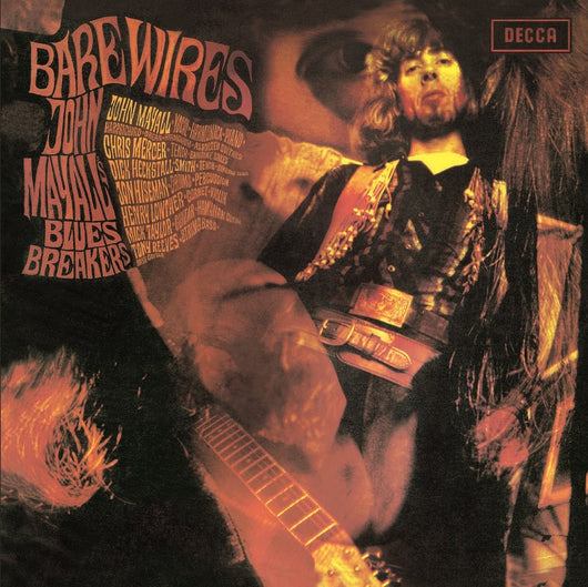 JOHN MAYALL AND THE BLUESBREAKERS BARE WIRES LP VINYL 33RPM NEW