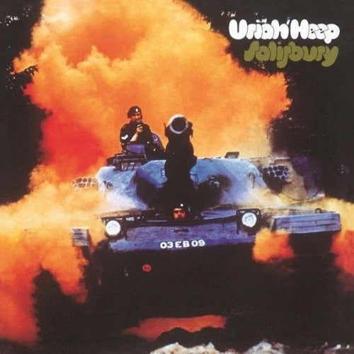 URIAH HEEP SALISBURY TO EXPANDED TO LP VINYL 33RPM NEW