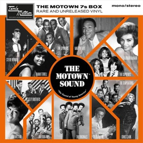 MOTOWN 7S BOX RARE AND UNRELEASED 7