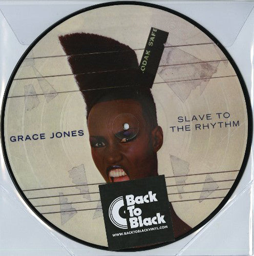 GRACE JONES SLAVE TO THE RHYTHM LP VINYL NEW 2014 33RPM PICTURE DISC