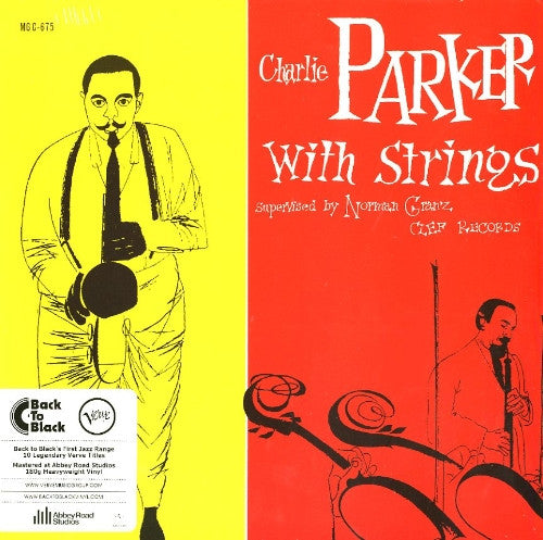 CHARLIE PARKER WITH STRINGS 12 INCH VINY LP VINYL JAZZ 2013 NEW