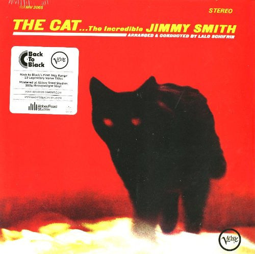 JIMMY SMITH THE CAT 12 LP VINYL NEW 33RPM