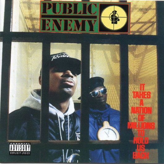 PUBLIC ENEMY IT TAKES A NATION OF MILLIONS TO HOLD US BACK LP VINYL  NEW