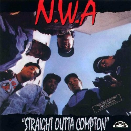 NWA Straight Outta Compton LP Vinyl 33RPM NEW 25th Anniversary