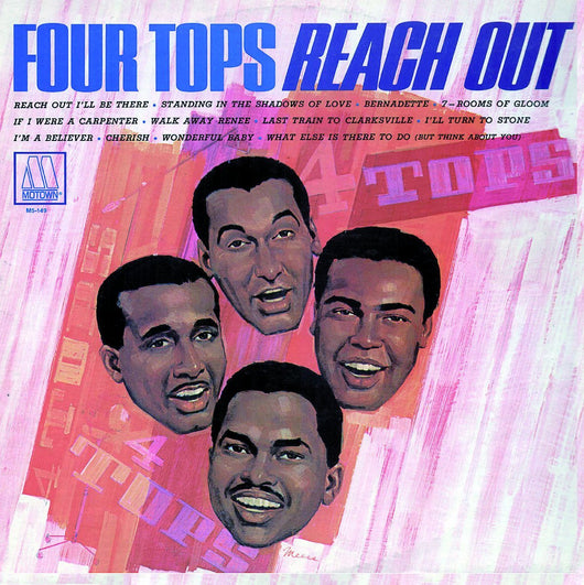 FOUR TOPS REACH OUT 180GM LP VINYL 33RPM NEW