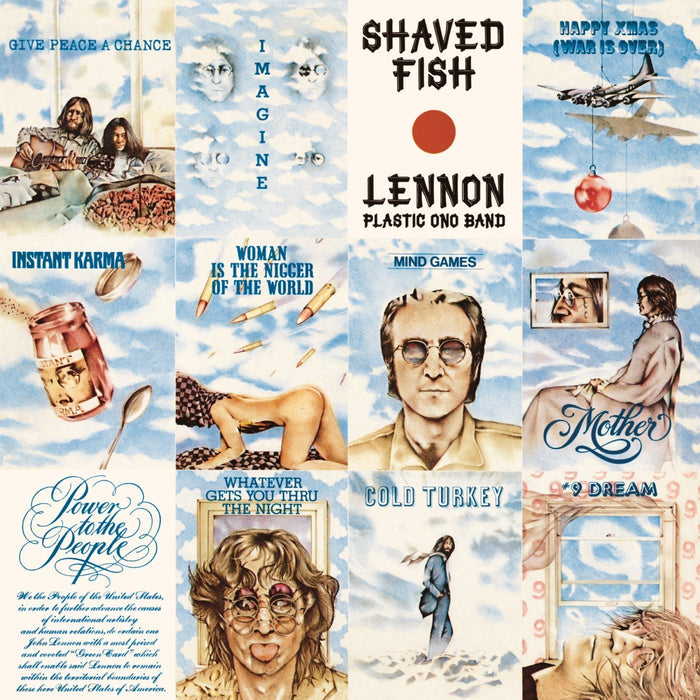 JOHN LENNON Shaved Fish LP Vinyl NEW