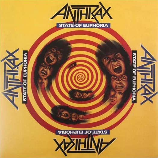 ANTHRAX STATE OF EUPHORIA LP VINYL NEW 33RPM