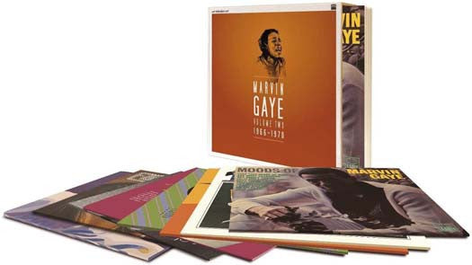 MARVIN GAYE 1966 - 1970 LP Vinyl 8LP Set NEW 2015 33RPM