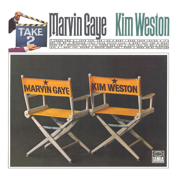 MARVIN GAYE Kim Weston Take Two Vinyl LP Vinyl NEW