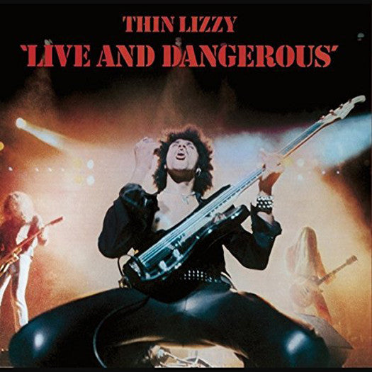 THIN LIZZY LIVE AND DANGEROUS LP VINYL NEW 2014 33RPM