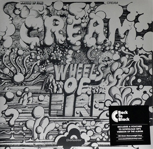 CREAM Wheels of Fire 2LP Vinyl NEW 2015 180gm Reissue