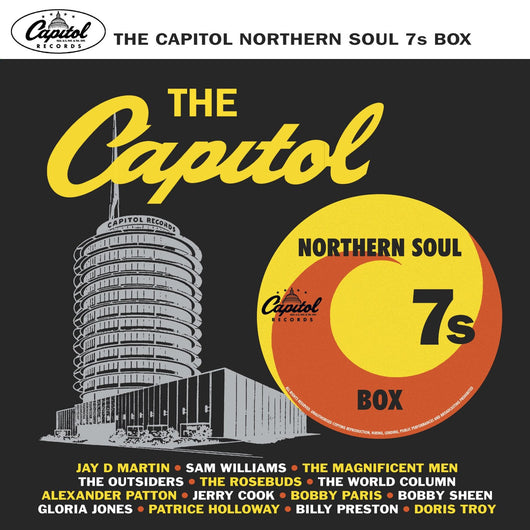 THE CAPITOL NORTHERN SOUL 45'S 7 X 7 INCH VINYL BOXSET NEW 45RPM