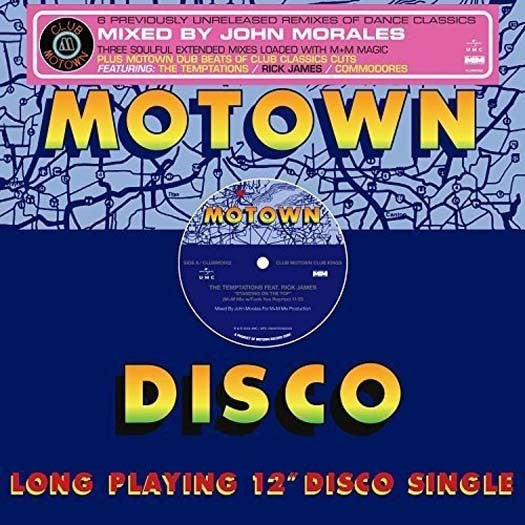JOHN MORALES Presents Club Motown Kings LP Vinyl NEW