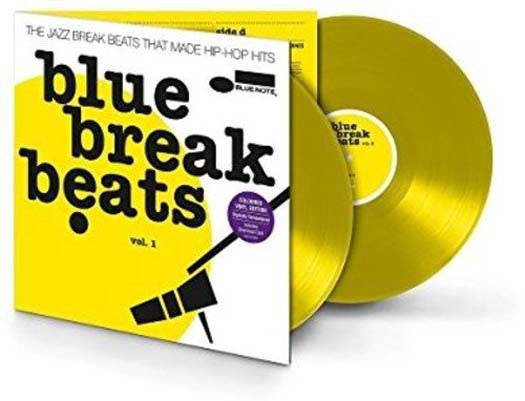 BLUE BREAK BEATS Volume 3 2LP yellow Vinyl NEW 2017