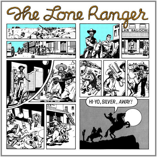 Lone Ranger Hi Yo Silver Away LP Vinyl New