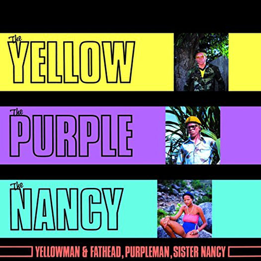 YELLOWMAN AND FATHEAD PURPLE MAN SISTER NANCY LP VINYL NEW 33RPM