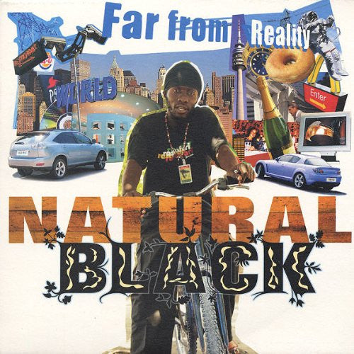 NATURAL BLACK FAR FROM REALITY LP VINYL 33RPM NEW