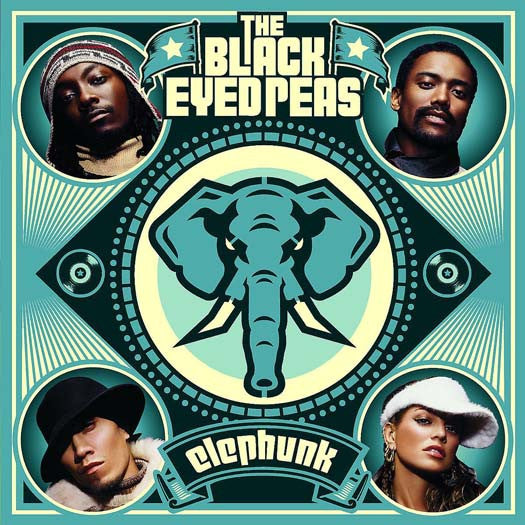 BLACK EYED PEAS Elephunk 2LP Vinyl NEW 2016