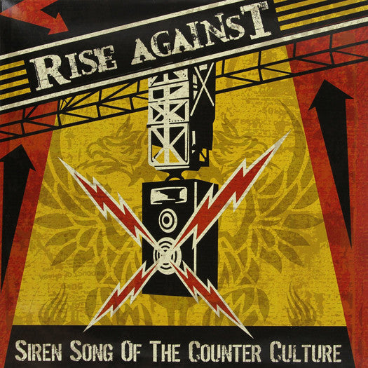 RISE AGAINST SIREN SONG OF THE COUNTER-CULTURE LP VINYL NEW (US) 33RPM