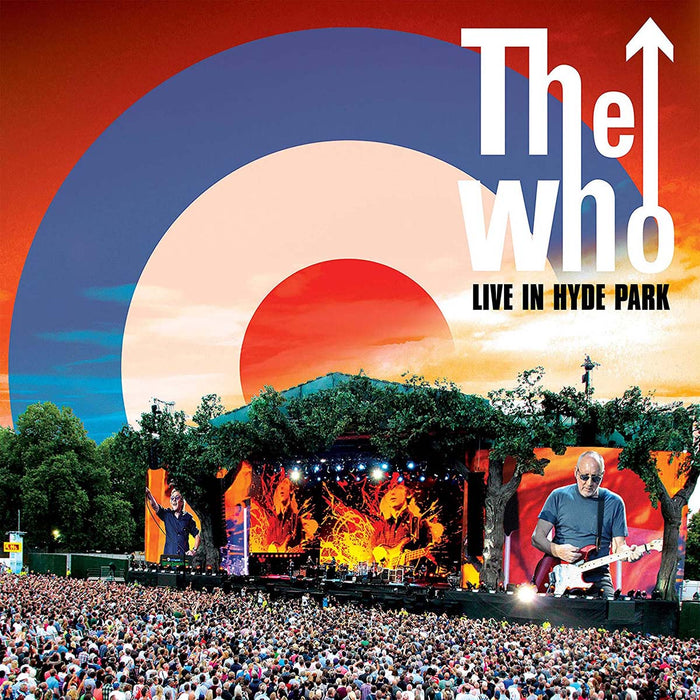The Who - Live In Hyde Park 2015 Vinyl LP Red White & Blue Colour 2020