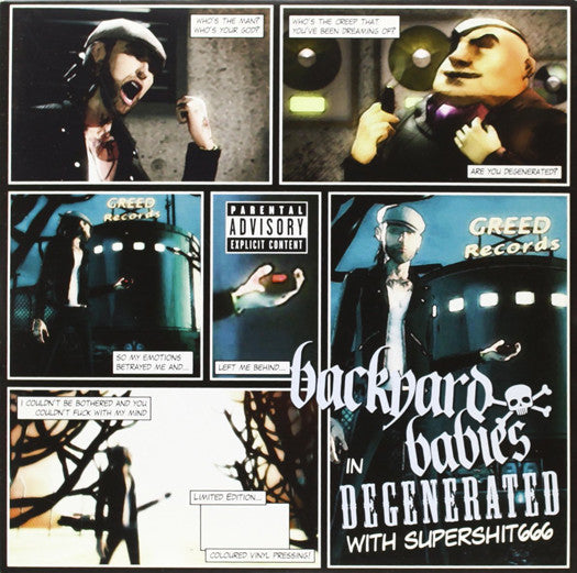 Backyard Babies Degenerated 7
