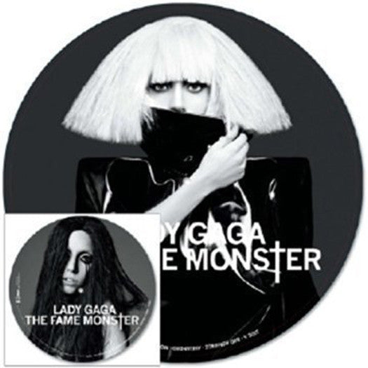 LADY GAGA FAME MONSTER LP VINYL NEW (US) 33RPM PIC DISC