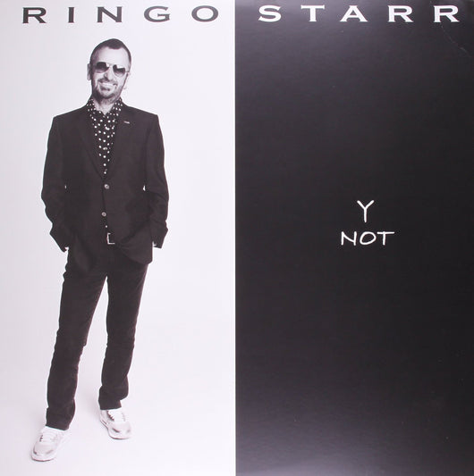 RINGO STARR Y NOT LP VINYL 33RPM NEW
