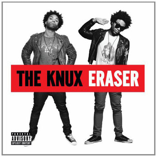 KNUX ERASER LP VINYL NEW (US) 33RPM