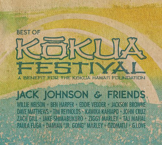 JACK JOHNSON JACK JOHNSON BEST OF KOKUA FESTIVAL LP VINYL NEW (US)