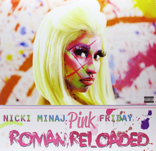 NICKI MINAJ PINK FRIDAY ROMAN RELOADED LP VINYL NEW (US) 33RPM