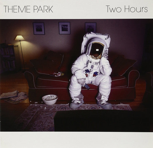 Theme Park Two Hours EP Indie Pop Rock Music 10'' Single Brand New