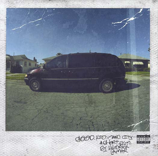 KENDRICK LAMAR Good Kid MAAD CITY LP Vinyl 2012