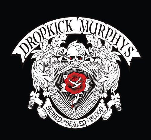 DROPKICK MURPHYS SIGNED AND SEALED IN BLOOD LP VINYL 33RPM NEW