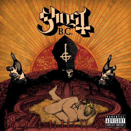 GHOST B.C. INFESTISSUMAM LP VINYL NEW 33RPM