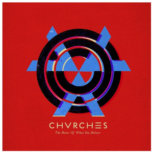 Chvrches - The Bones Of What You Believe Vinyl LP New 2013