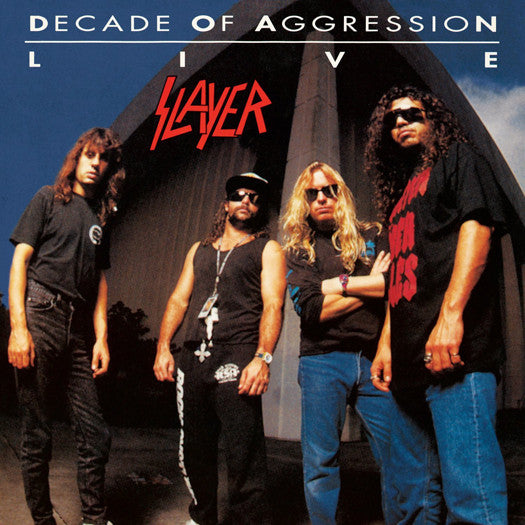 SLAYER LIVE DECADE OF AGGRESSION LP VINYL NEW (US) 33RPM