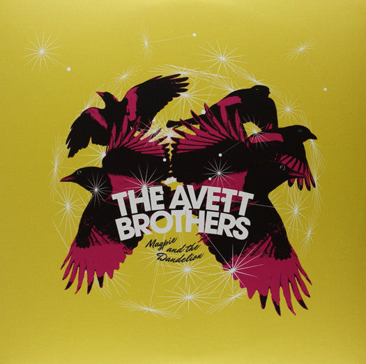 AVETT BROTHERS MAGPIE & THE DANDELION LP VINYL NEW (US) 33RPM
