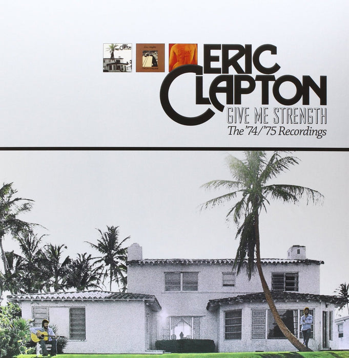 ERIC CLAPTON GIVE ME STRENGTH LP VINYL 33RPM NEW