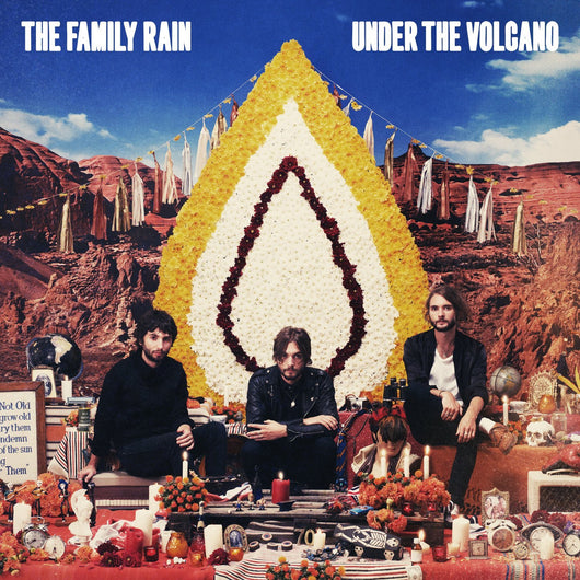 FAMILY RAIN UNDERVOLCANO LP VINYL 33RPM NEW