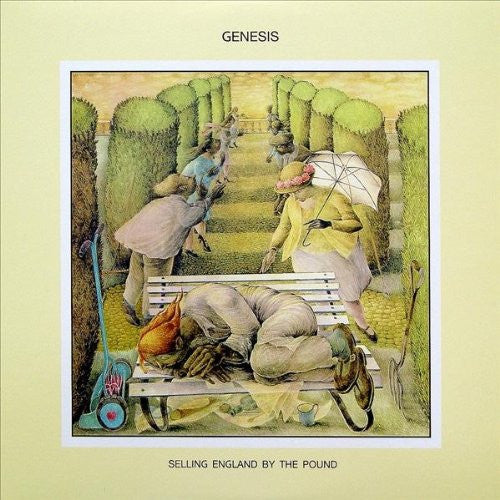 GENESIS SELLING ENGLAND BY THE POUND LP VINYL 33RPM NEW