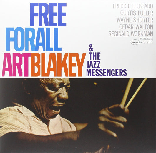 ART BLAKEY AND THE MESSENGERS FREE FOR ALL LP VINYL 33RPM NEW